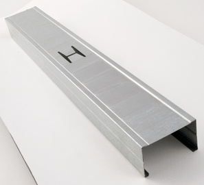 Metāla vertikālais profils CW Favor 100x50mm, 2600mm