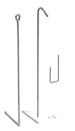 Stieple ar cilpu Knauf 50cm
