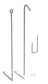 Stieple ar cilpu Knauf 125cm