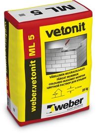 Müürisegu Weber Vetonit ML 5, valge (140 Jeres), 25kg