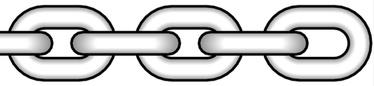 Ķēde Certex 2mm, īsie posmi