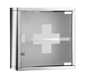 Esmaabikarp roostevaba/klaas 30x12x30cm