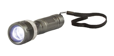Taskulamp Arcas LED 3W Zoom + 3xAAA