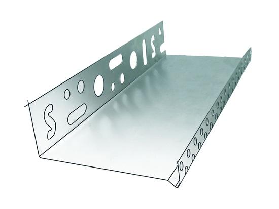 Alumiiniumist sokliprofiil 150 1,0mm 2,0m