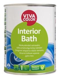 Seinavärv Vivacolor Interior Bath, poolläikiv, valge 0,9L