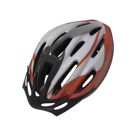 Jalgrattakiiver, punane/hall/must, suurused S/M