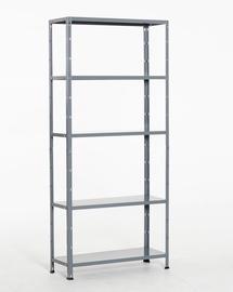 Moodulriiul Prof, hall, 180x80x30 cm, 50 kg