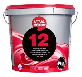 Krāsa sienām un griestiem Vivacolor 12 A, 4,8L, balta
