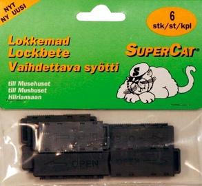 Hiirelõksu sööt Swissinno Supercat, 6tk