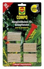 Mēslojuma stienīši zaļajiem augiem Compo, 30 gab.