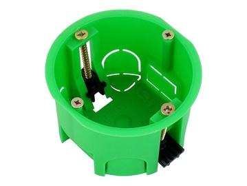Harutoos kipsplaadile Hegel, ühendatav, roheline, Ø68 mm, H45 mm