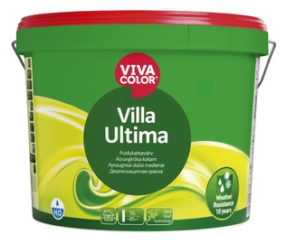 Fassaadivärv Vivacolor Villa Ultima, valge (A) 9L