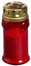 Kapu svece Bolsius 16cm, sarkana