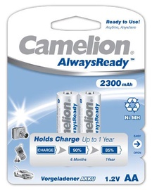 Lādējamās baterijas Camelion AA 2300mAh, 2 gab.