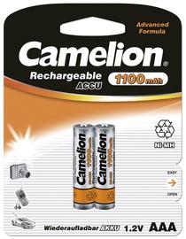 Lādējamās baterijas Camelion AAA 1100mAh, 2 gab.