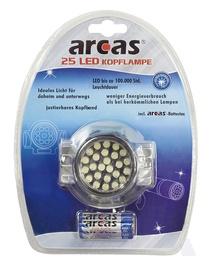 Otsmikulamp Camelion Arcas 25 LED + 3x AAA