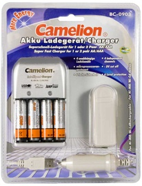 Laadija Camelion BC-0903 + 4xAA 2700MAh