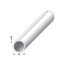 Toru ümar alu/hõbe 7,5x1mm 1m
