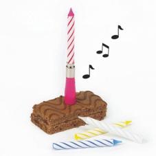 """Muzikālā svece """"Happy Birthday"""""""