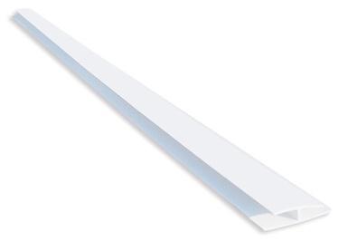 PVC H-PROFILS B3 3,0M BALTS