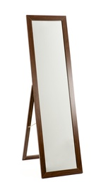 Peegel põrandale 150x38cm valge/pruun