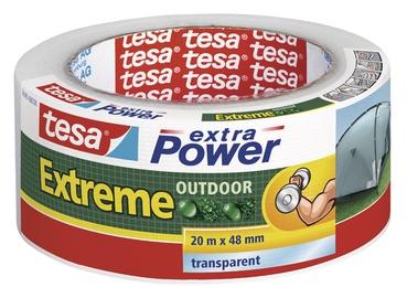 Parandusteip Tesa Extreme Outdoor, läbipaistev, 20m x 48mm