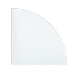Klaasriiul, 250x250x6 mm, läbipaistev