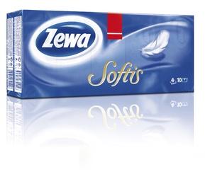Taskurätikud Zewa Softis, 10x10tk