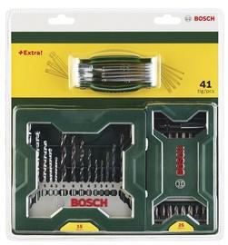 Urbju, uzgaļu un seškanšu komplekts Bosch, 15+25 gab.