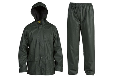 Vihmariiete komplekt FXA, roheline, suurus XL