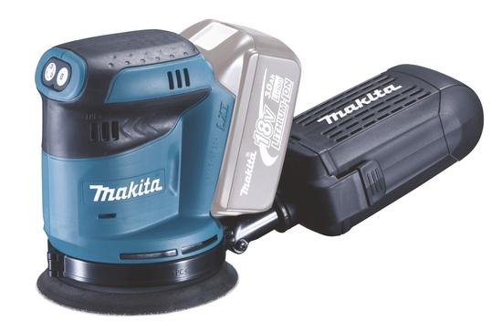 Akumulatora ekscentra slīpmašīna Makita DBO180Z, 18V, Z-sērija