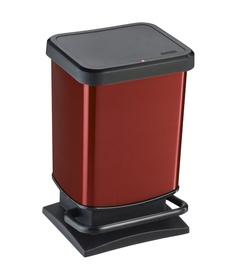 Prügikast Rotho Paso 20l punane