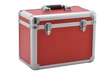 Kohver, alumiinium punane 400x190x290mm
