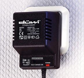 Adapter Duwi Stabil 220=>1,5-9V, 500 mA