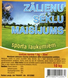 Zāliena sēklu maisījums sporta laukumiem Pakavs 10kg