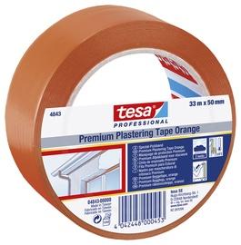 Üldehitusteip Tesa 33m x 50mm, oranž