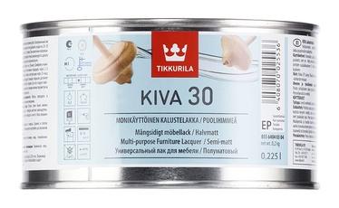 Laka kokam Tikkurila Kiva 30 EP, pusmatēta, 0,225L