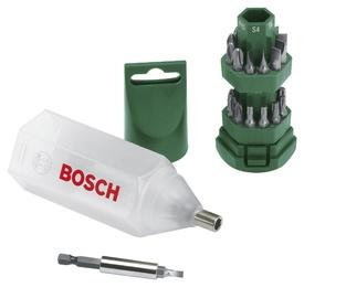 Kruvikeeraja otsikute komplekt Bosch, 25-osaline
