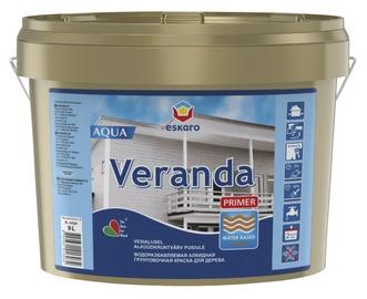 Kruntvärv Veranda Primer Aqua, valge (A) 9,0L