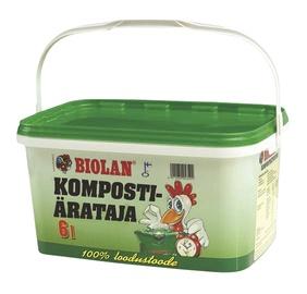 Kompostiärataja Biolan 6L