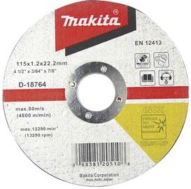 Lõikeketas Makita 125 x 1,2mm, WA60T RST/metall