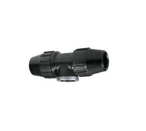 Plastik kolmik liitmik SK 25x3/4x25 PEM-torule