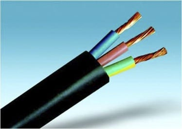 Gumijas kabelis Telefonika H05RR-F 3x1,5mm