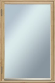 Aken VKF1 800x1200mm, vasak, puuvalmis