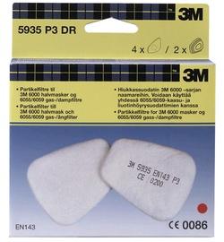 Tolmufilter + filtrihoidja poolmaskile 3M, 2tk