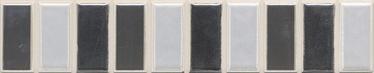 Keraamiline bordüür Vetro Isla Marengo 25x5cm