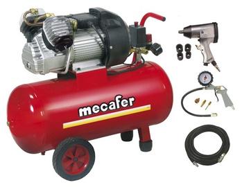 Gaisa kompresors Mecafer VDC50 + piederumi