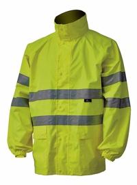 Vihmajakk + püksid Vizwell kollane suurus L