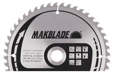 Saeketas Makita Makblade, 190 x 20 x 2,3 mm, 48 hammast