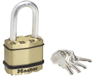 Piekaramā slēdzene Masterlock Excell 45mm, tērauds
